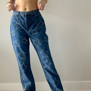 Nasty Gal Star Boyfriend/ Mom Jeans